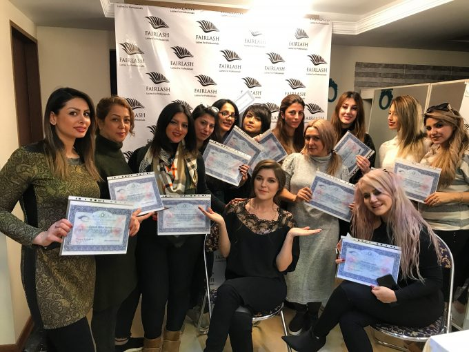 İran İpek Kirpik Eğitimi 2 Fairlash